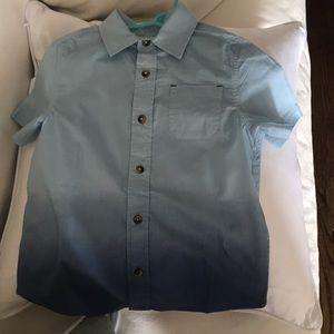 Little Boys Summer Shirt -Blue